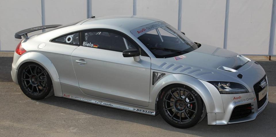 2012 Audi TT GT4 concept unveiled in Shanghai