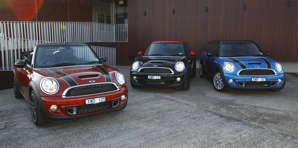 2011 MINI range launched in Australia