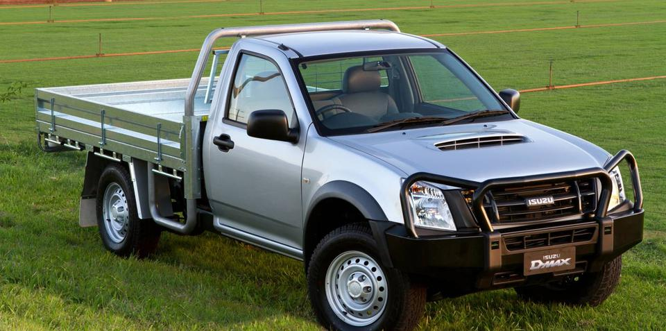 2011 Isuzu D-MAX Farm Mate special edition for Australia