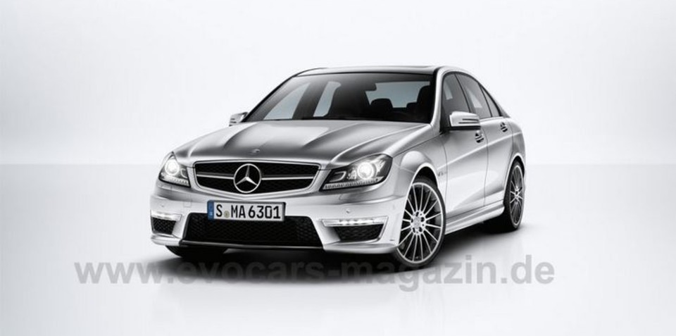 2012 Mercedes-Benz C 63 AMG leaked pictures