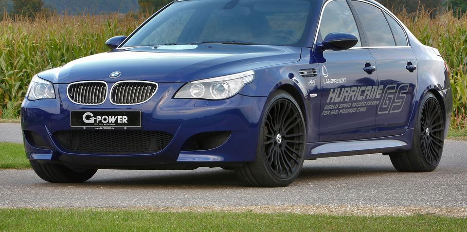 BMW M5 Hurricane GS by G-Power world's fastest LPG car