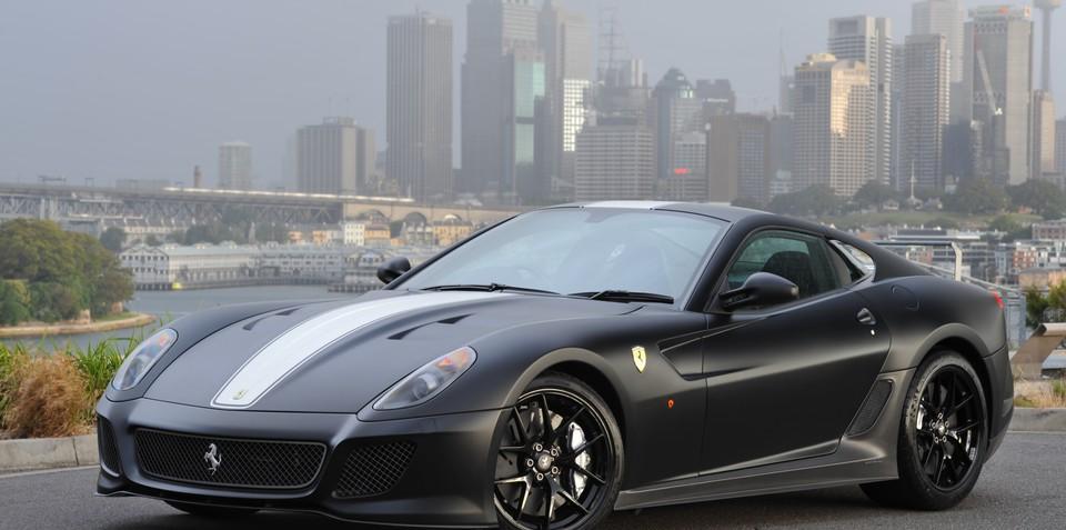 2011 Ferrari 599 GTO arrives in Australia