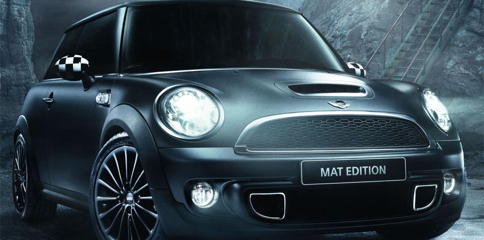 2011 mini cooper matt edition launched in france. Black Bedroom Furniture Sets. Home Design Ideas