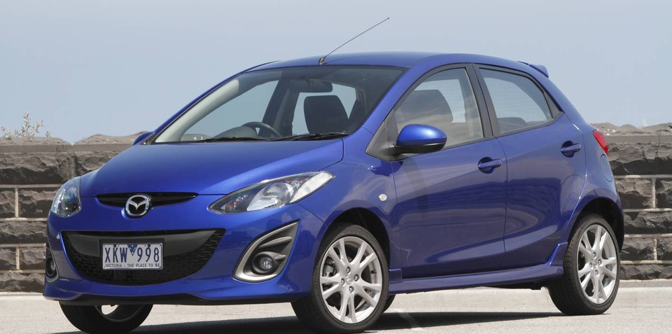 2012 Mazda2 Electric leasing announced in Japan