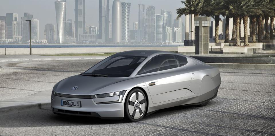 Volkswagen XL1 concept uses 0.75 litres/100km