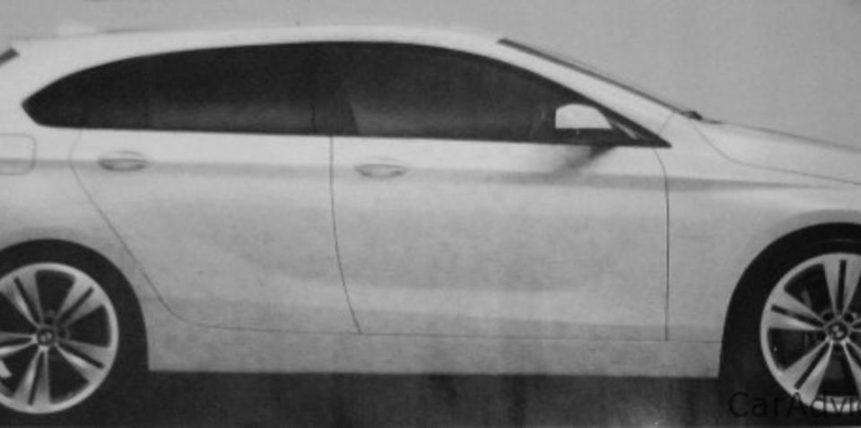 BMW 1 Series Gran Turismo image appears online