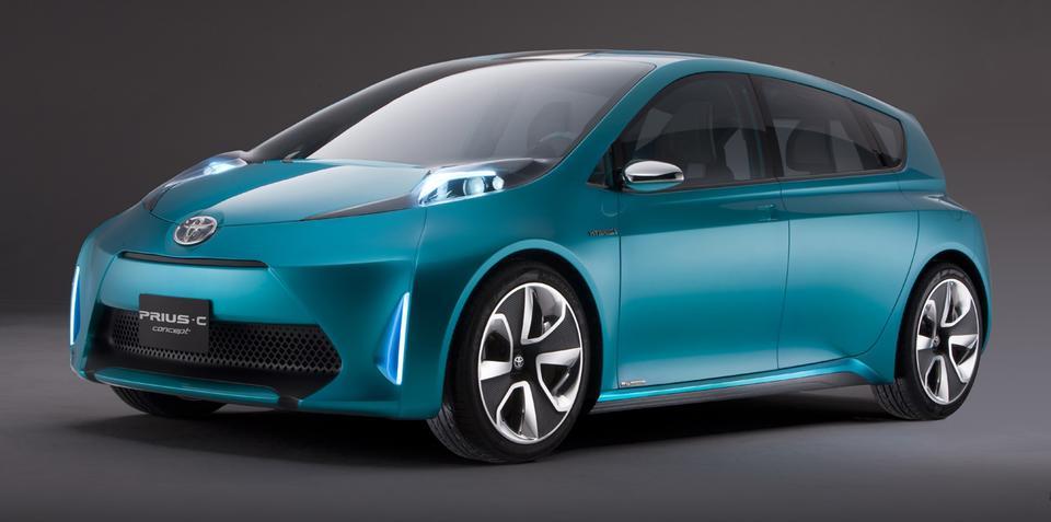 Toyota Prius C Concept unveiled at Detroit Auto Show