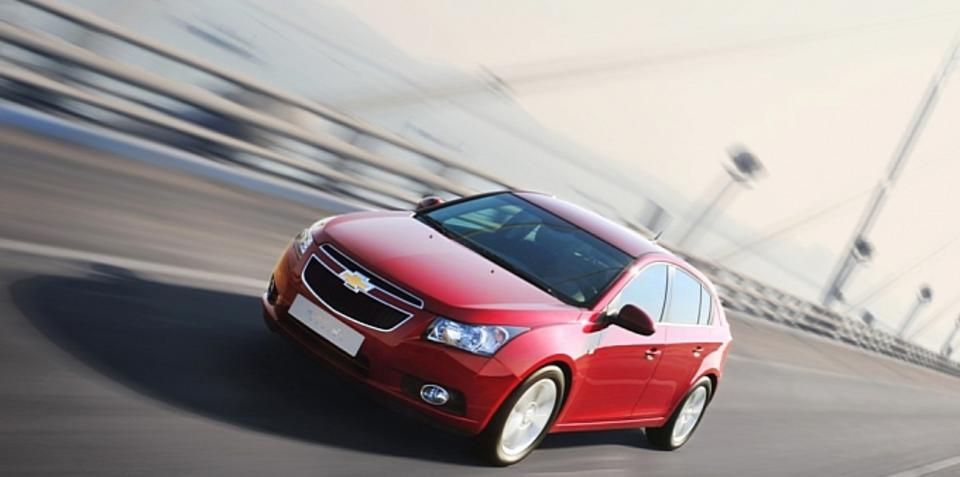 2011 Holden Cruze hatch revealed ahead of Geneva