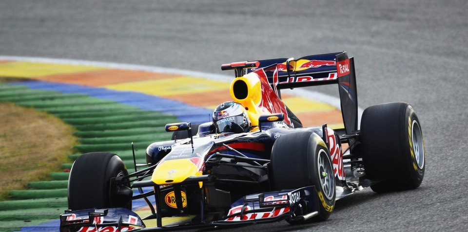 2011 Red Bull Racing RB7 vehicles unveiled in Spain