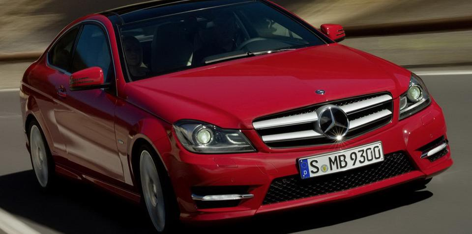 2012 Mercedes-Benz C-Class Coupe more images revealed