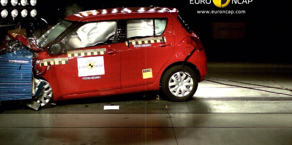 2011 Suzuki Swift, Kizashi five-star ANCAP safety rating
