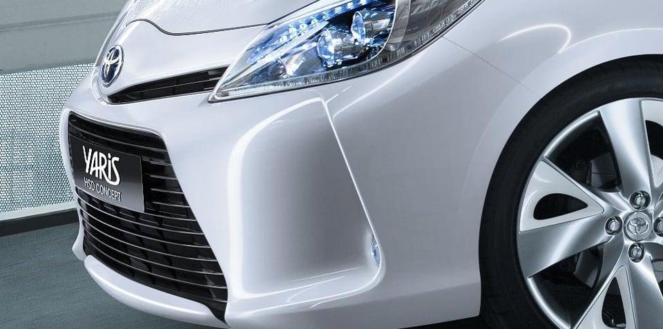 Toyota Prius+, Yaris HSD Concept at Geneva Motor Show
