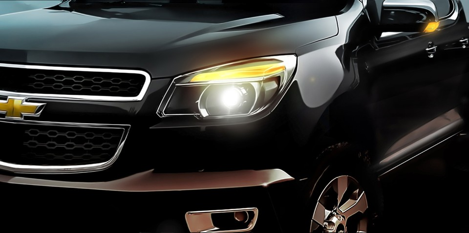 2012 Holden Colorado teased ahead of Thailand unveiling