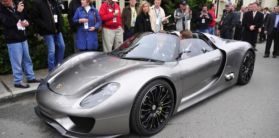 2013 porsche 918 spyder on sale - Porsche Spyder 2013