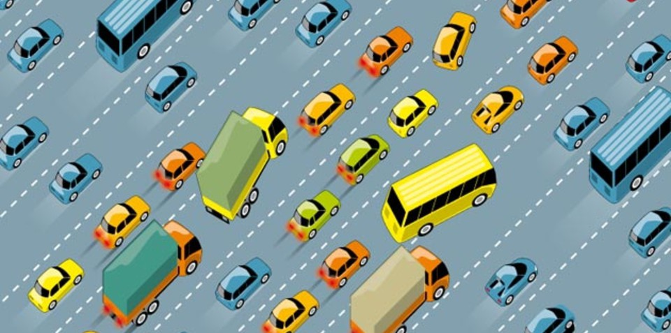 The science of traffic jams explained in new infographic