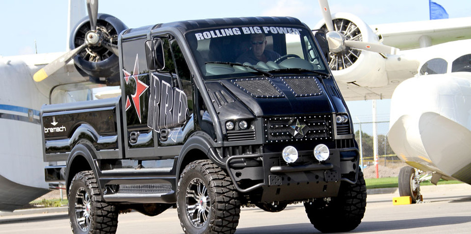 Bremach T-Rex eletric off-road truck