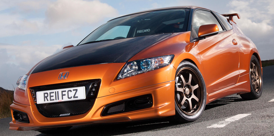 mugen honda cr z revealed. Black Bedroom Furniture Sets. Home Design Ideas