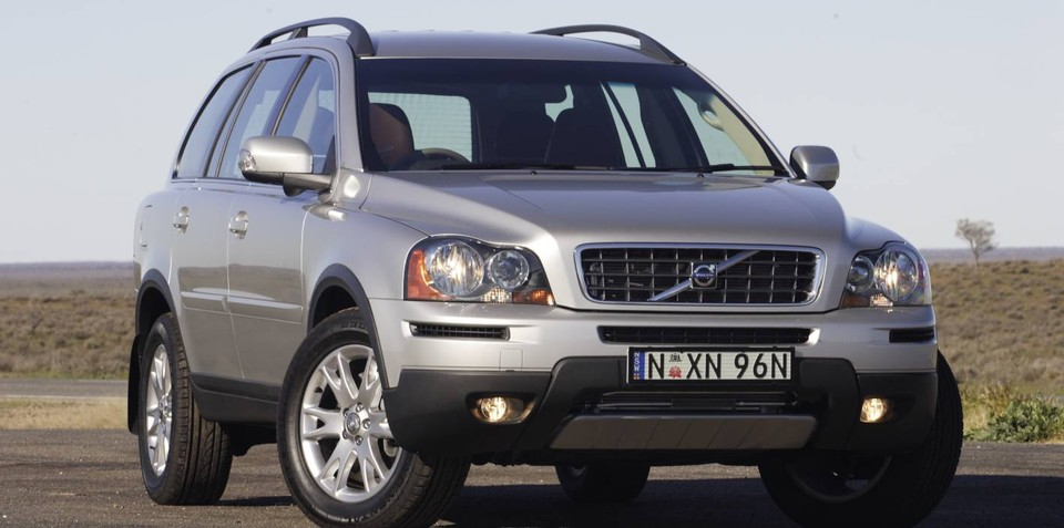 2010-2011 Volvo XC90 recalled in Australia