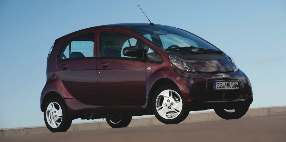 Mitsubishi i-MiEV on sale for around $50,000 from August