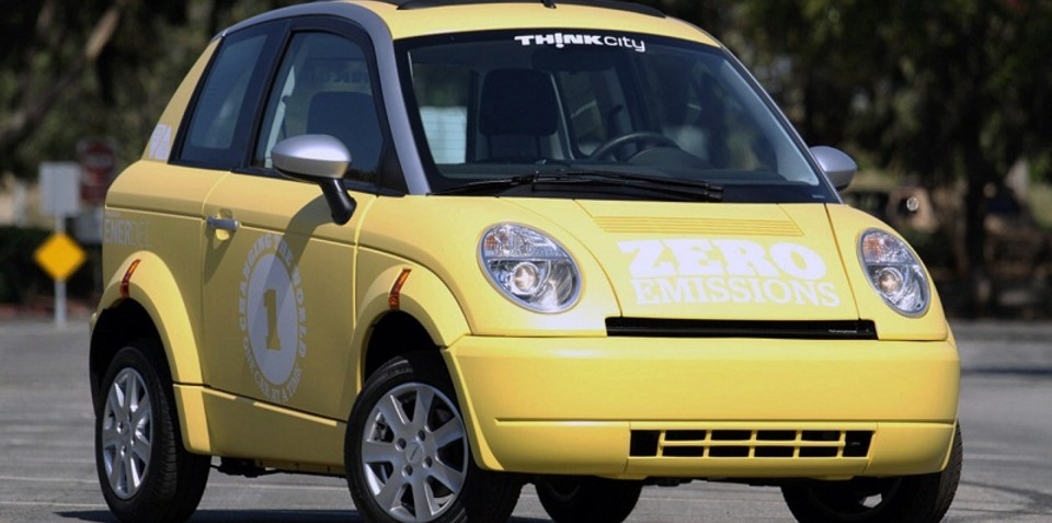 THINK electric car company saved from bankruptcy