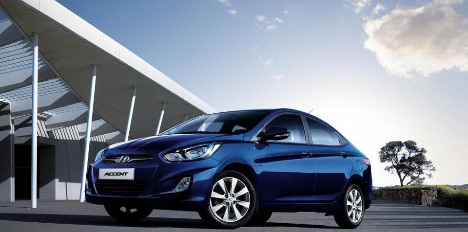 2012 hyundai accent pricing and specifications for australia. Black Bedroom Furniture Sets. Home Design Ideas