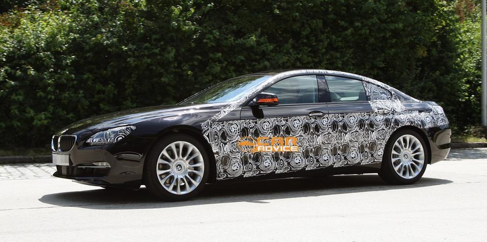 2013 BMW 6 Series Gran Coupe more revealing spy shots