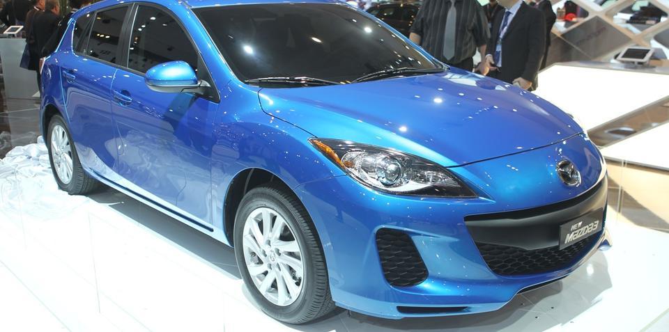 Mazda3 SKYACTIV at Australian International Motor Show 2011