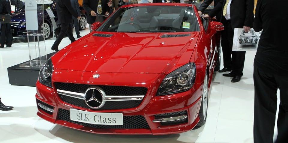 2011 Mercedes-Benz SLK at Australian International Motor Show 2011