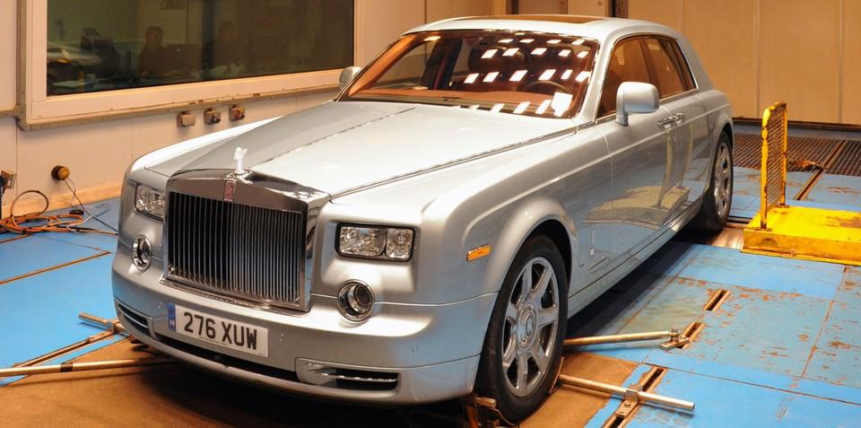 Rolls-Royce Phantom Experimental Electric preview