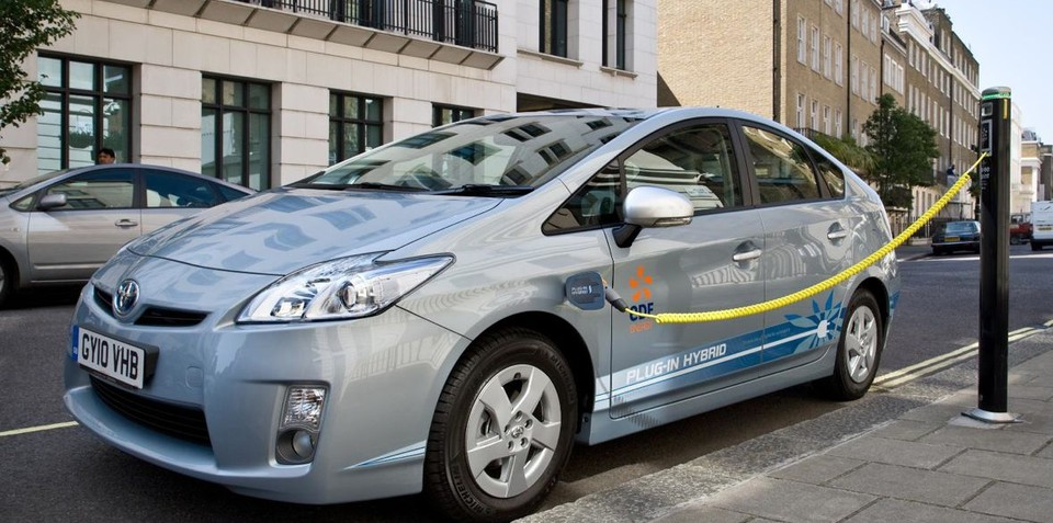 Toyota Plug-in Hybrid vehicles more efficient than Diesels