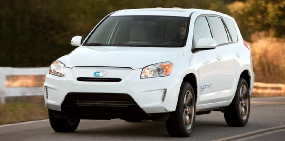 Tesla secures $100 million deal for Toyota RAV4 EV production