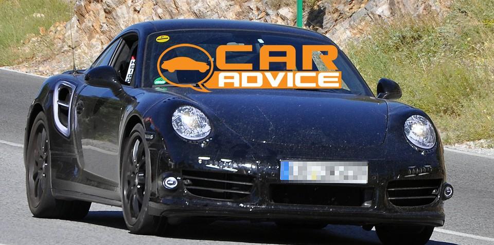 New Porsche 911 Turbo S spy shots