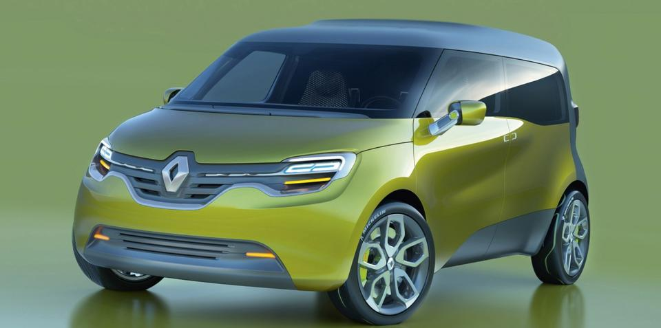 Renault Frendzy electric concept unveiled