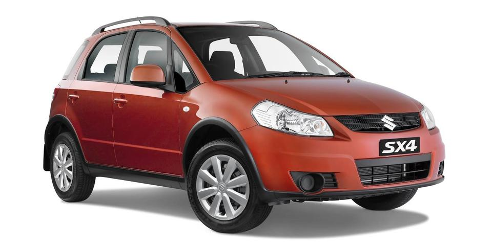 2011 Suzuki SX4 update on sale in Australia