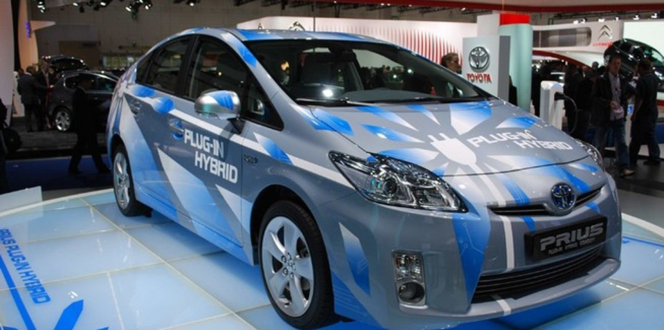 2012 Toyota Prius Plug-In Hybrid 2.2L/100km to debut at Frankfurt