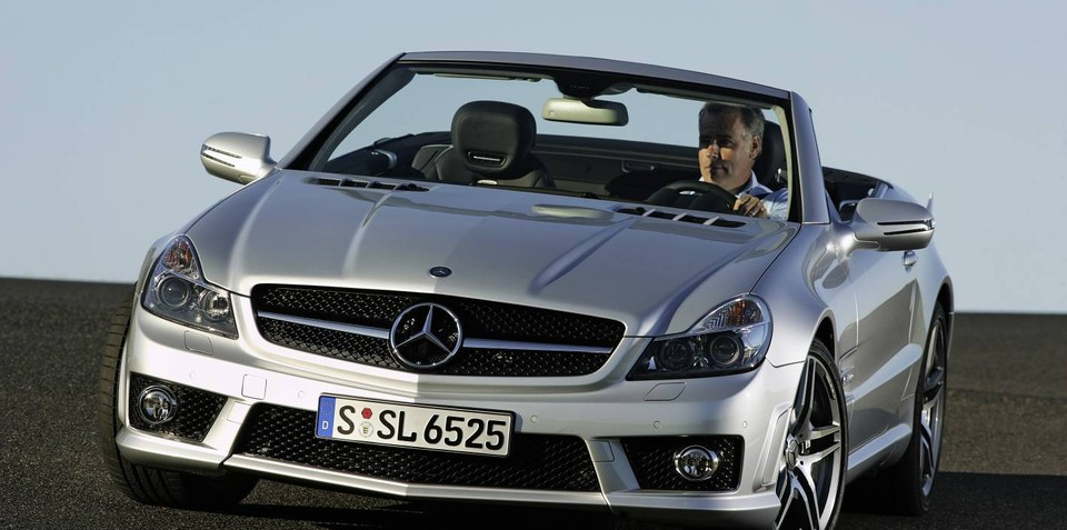 2012 mercedes benz sl to drop v12 engine for Drop top mercedes benz prices