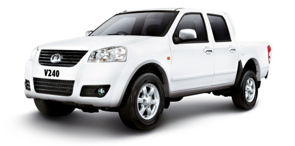 2011 Great Wall V200 diesel on sale in Australia
