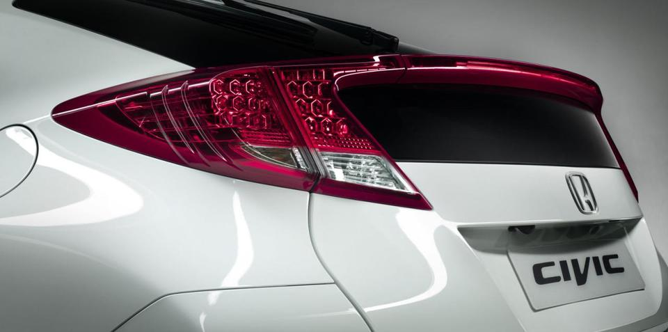2012 Honda Civic hatch teaser image