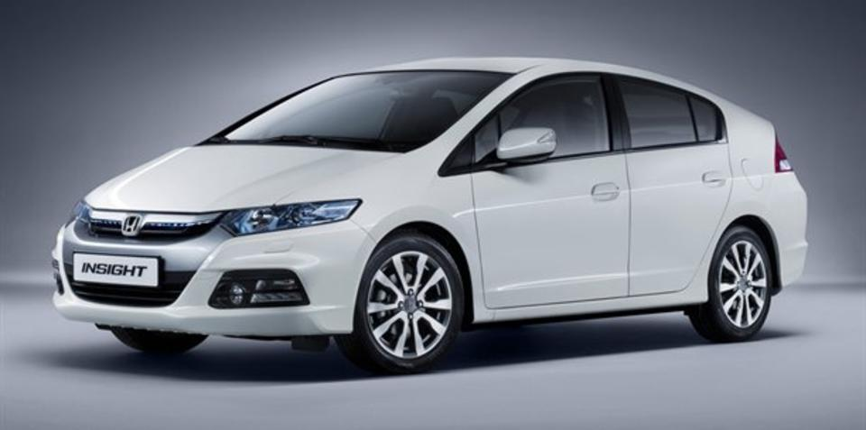 2012 Honda Insight revealed ahead of Frankfurt show