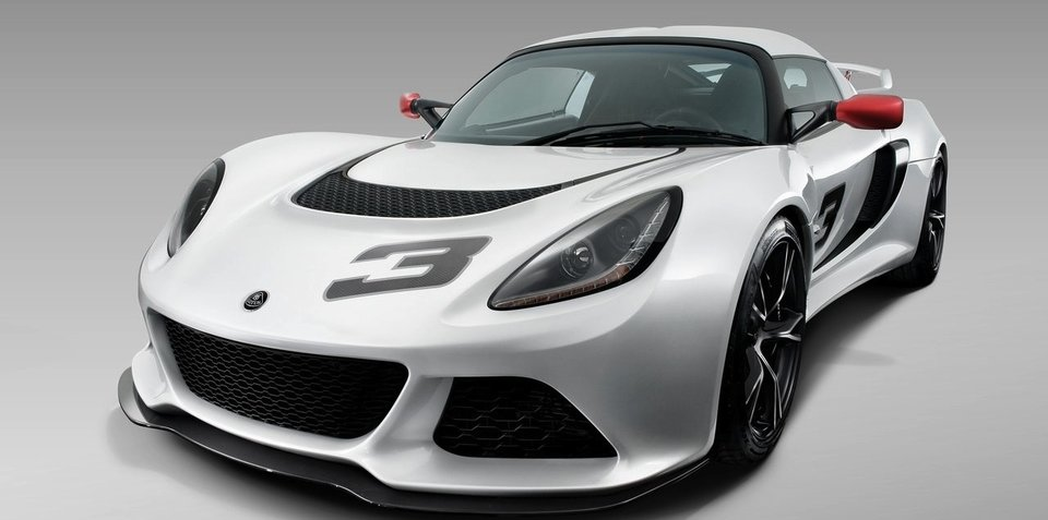 2012 Lotus Exige S gets 3.5 V6, unveiled at Frankfurt Motor Show