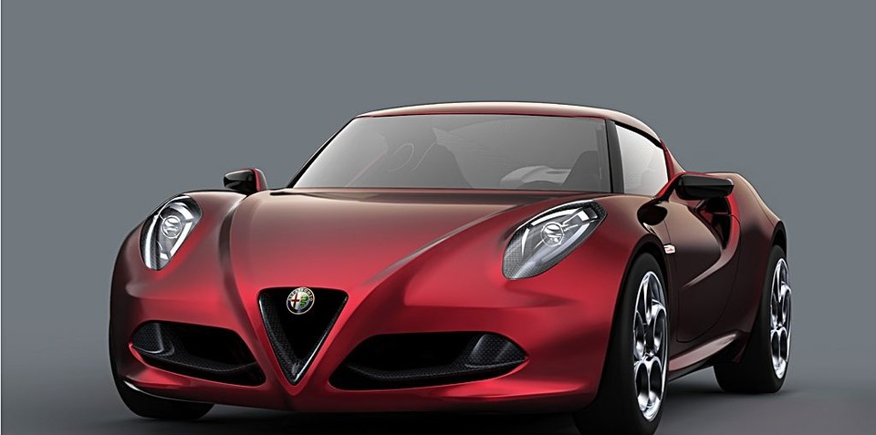Alfa Romeo teases new high-tech 224kW aluminium turbo engine