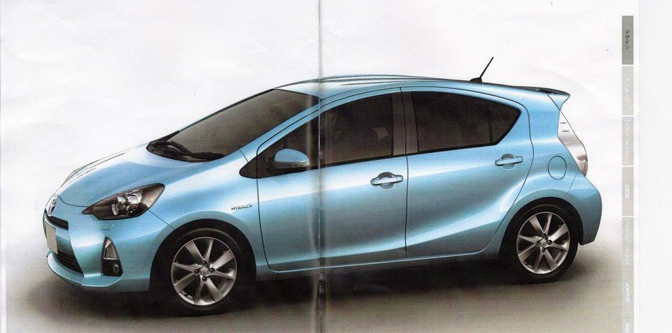 Toyota Prius c revealed in Japanese brochure