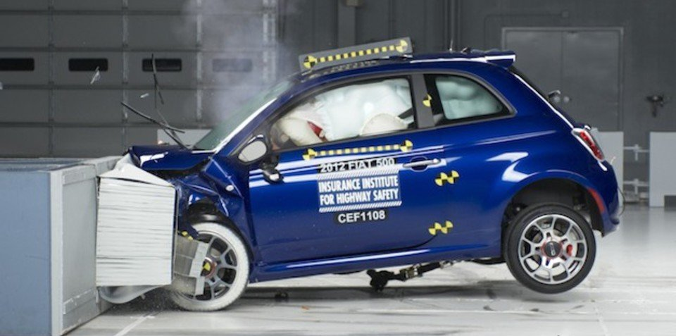 2012 Fiat 500 earns IIHS Top Safety Pick in US
