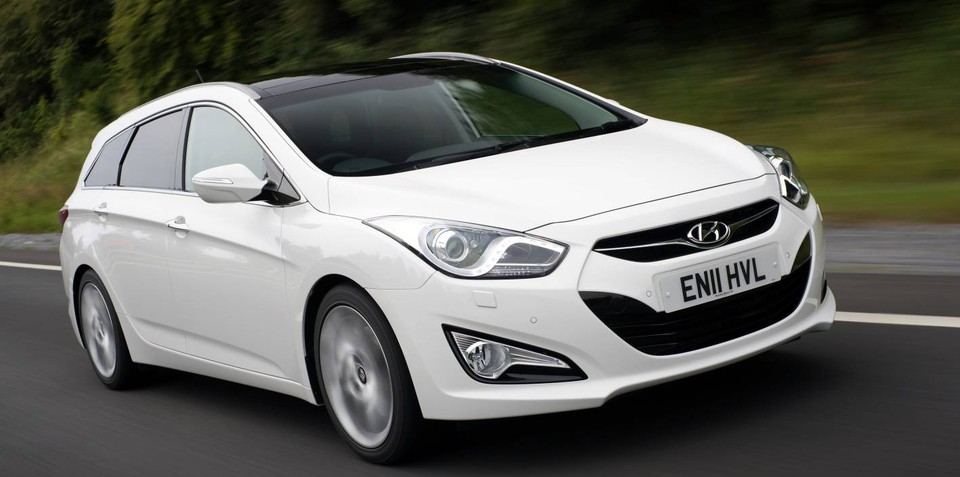 Hyundai i40 Tourer on sale in Australia