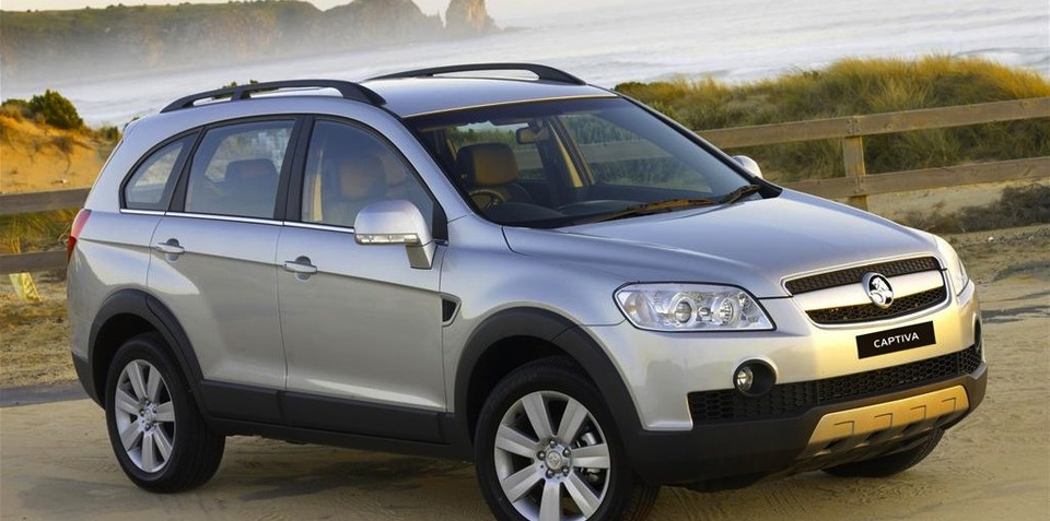 Holden Captiva, Holden Cruze and Holden Epica diesels recalled