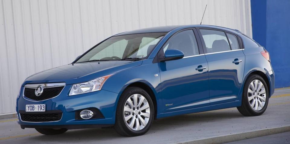 Holden Cruze hatch on sale in Australia