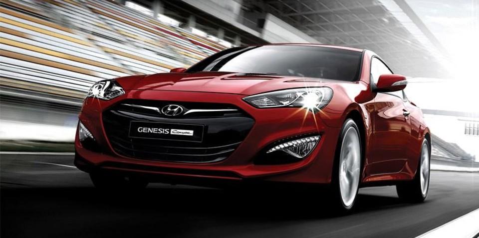 2013 Hyundai Genesis Coupe: More power, eight-speed auto