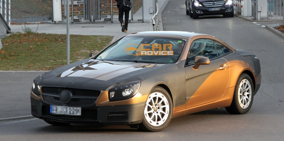 2013 Mercedes-Benz SL spy shots