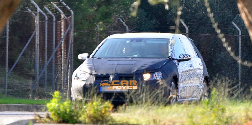 2013 Volkswagen Golf Mk VII spy shots