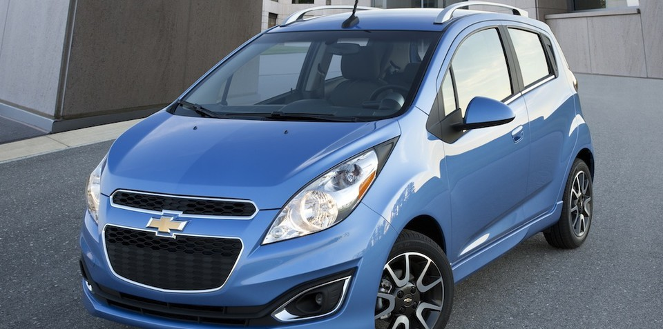 2013 Chevrolet Spark revealed, Holden Barina Spark timing unclear